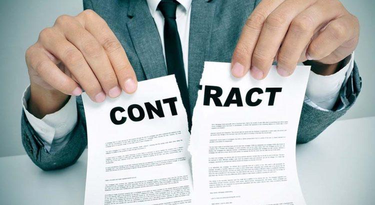 rescisão do contrato de compra e venda